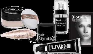 Biotulin Anti-Aging Hautpflege entfernt Falten